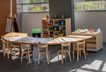 Pre-school learning area